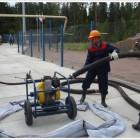 Учения по ликвидации разлива нефтепродуктов на ДЭС на о. Валаам