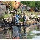 , Закончены работы по ликвидации разлива мазута на акватории Онежского озера