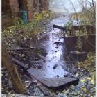На берегу р. Невы произошёл аварийный выброс мазута в районе сливной эстакады