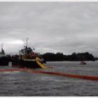 Морские учения по ликвидации разливов нефтепродуктов в акватории порта Санкт – Петербург