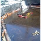 , В районе причала СВ-7 произошёл выброс трансформаторного масла