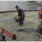 , Ликвидация разлива трансформаторного масла на акватории и береговой линии озера Куэтс-Ярви