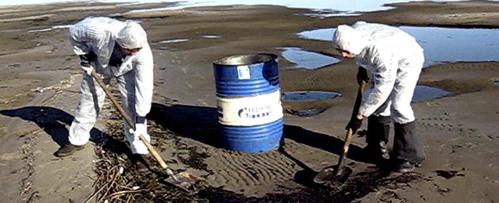 Ликвидация нефтеразливов