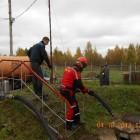 , Учения на Вологодской нефтебазе