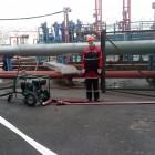 , Учения на нефтебазе «Газпроннефть Терминал»