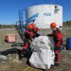 Учения на нефтебазе «Газпромнефть АЭРО»