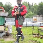 Учение на комбинате Росрезерва «Полярник» (Архангельская область)