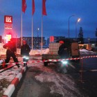 Ликвидация разлива нефтепродуктов на АЗС Лукойл №199