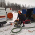 , Тренинг по  ликвидации последствий аварии на участке магистрального газопровода