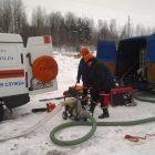 , Тренировке на участке магистрального газопровода филиала ООО «Газпром трансгаз Санкт-Петербург»