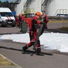 Учение по ликвидации аварийного разлива нефтепродуктов на КС «Портовая»