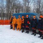 Учение по ликвидации аварийного разлива нефтепродукта на плавучей заправочной станции №8 ООО «РН-Северо-Запад»