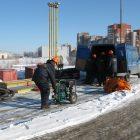 Учение по ликвидации аварийного разлива нефтепродукта при эксплуатации АЗС ООО «РН-Северо-Запад»