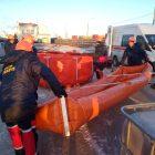, Учение по ликвидации последствий аварии  на железнодорожной ветке причала ИФ-2 ЗАО «Интерферрум-металл»
